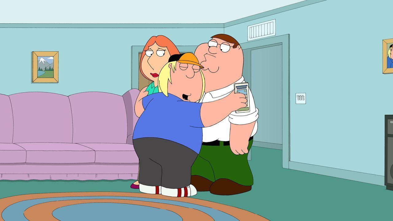 Peter (r.) und Lois (l.) planen, Chris (M.) in ein Camp zu schicken, um so sein Selbstbewusstsein zu stärken ... - Bildquelle: 2013 Twentieth Century Fox Film Corporation. All rights reserved.