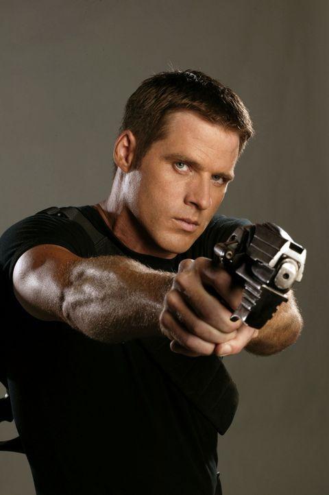 Er ist ein geborener Anführer und das macht ihn zu einem wichtigen Mitglied von Moyas Crew: John Crichton (Ben Browder) ... - Bildquelle: Hallmark Entertainment