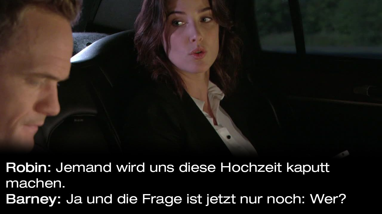 How-I-Met-Your-Mother-Zitate-Staffel-9-2-Barney-wer - Bildquelle: 20th Century Fox Film Corporation all rights reserved.
