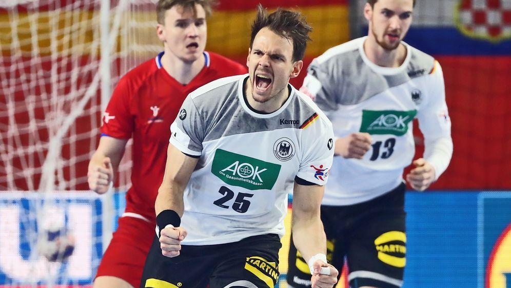 Die deutsche Handball-Nationalmannschaft startet in die Handball-WM 2019. Am... - Bildquelle: getty