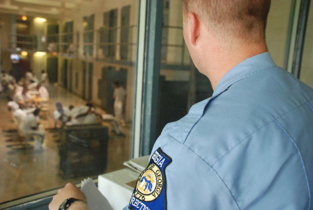 Die Insassen des Hays State Prison immer im Blick: Die Gefängniswärter haben hier ein besonderes System ... - Bildquelle: Gregory Henry part2 pictures