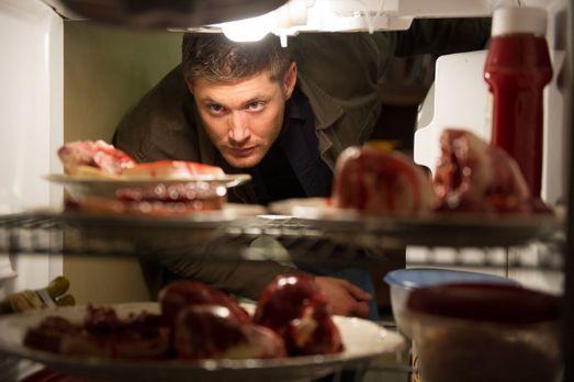 Eigentlich wollte sich Dean (Jensen Ackles) nur nach dem Wohl eines alten Fre...