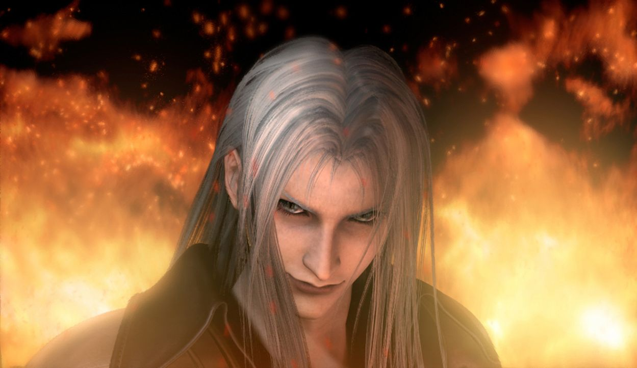 Macht Stress: Bösewicht Sephiroth ... - Bildquelle: 2005 Square Enix Co., LTD. All Rights Reserved.