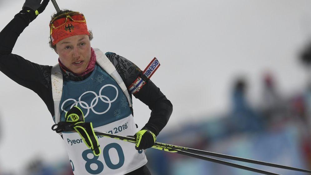 Laura Dahlmeier holt im Einzel die Bronzemedaille - Bildquelle: AFPSIDCHRISTOF STACHE