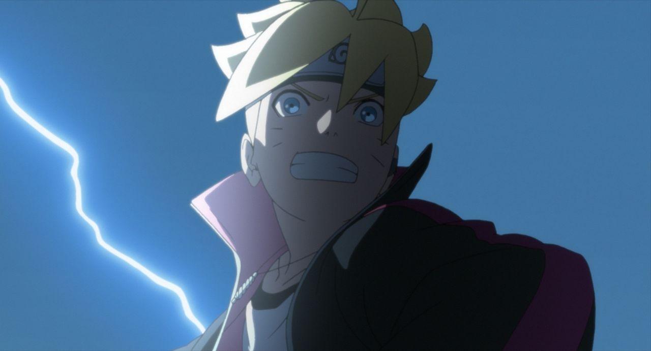 Narutos Sohn Boruto (Bild) ist sehr ehrgeizig und arbeitet hart für seinen Erfolg. Nach einem Streit mit Naruto wendet sich Boruto gegen ihn und nim... - Bildquelle: 2002 MASASHI KISHIMOTO /2007 Shippuden   NMP 2015