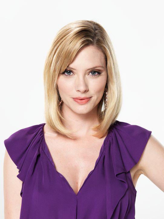 (4. Staffel) - Stacy (April Bowlby) ist die einzige Vertraute von Deb. - Bildquelle: Kevin Lynch Sony Pictures Television