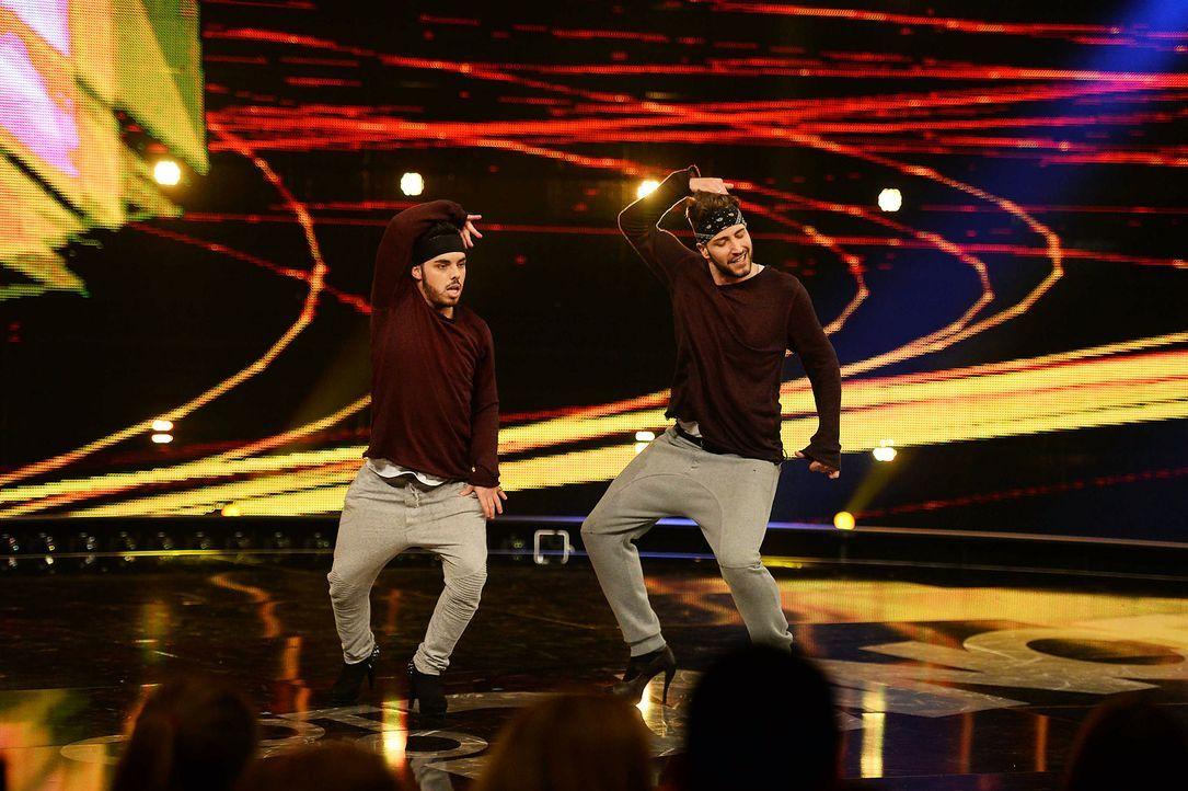 Got-To-Dance-M-C-Heels-02-SAT1-ProSieben-Willi-Weber-TEASER - Bildquelle: SAT.1/ProSieben/Willi Weber