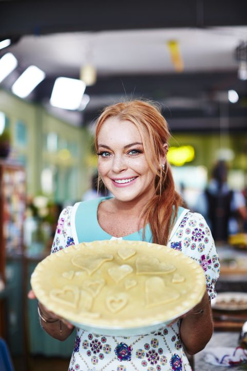 Lindsay Lohan - Bildquelle: David Loftus 2016 Jamie Oliver Enterprises Limited; photography David Loftus