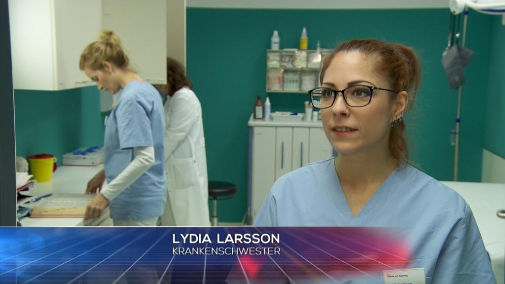 Krankenschwester - Lydia Larsson - Bildquelle: SAT.1