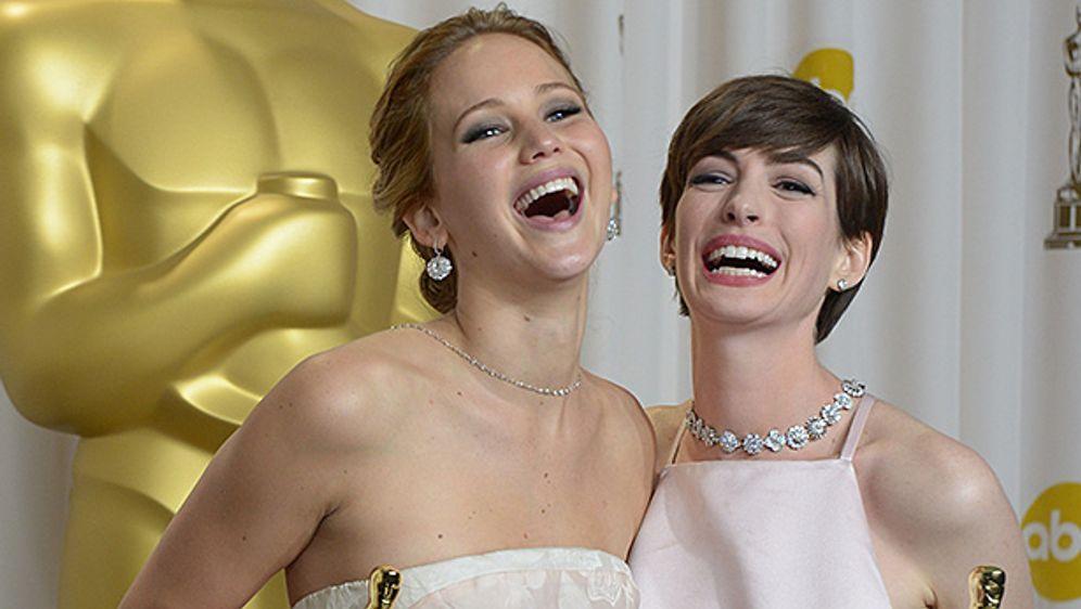 Oscar Verleihung 2013: Jennifer Lawrence ist Beste Hauptdarstellerin 2013 - Bildquelle: AFP