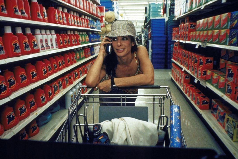 Ben ahnt nicht, dass auch die flippige Sarah (Sandra Bullock) massive Ängste und Probleme hat ... - Bildquelle: TM+  1999 DreamWorks LLC. All Rights Reserved.
