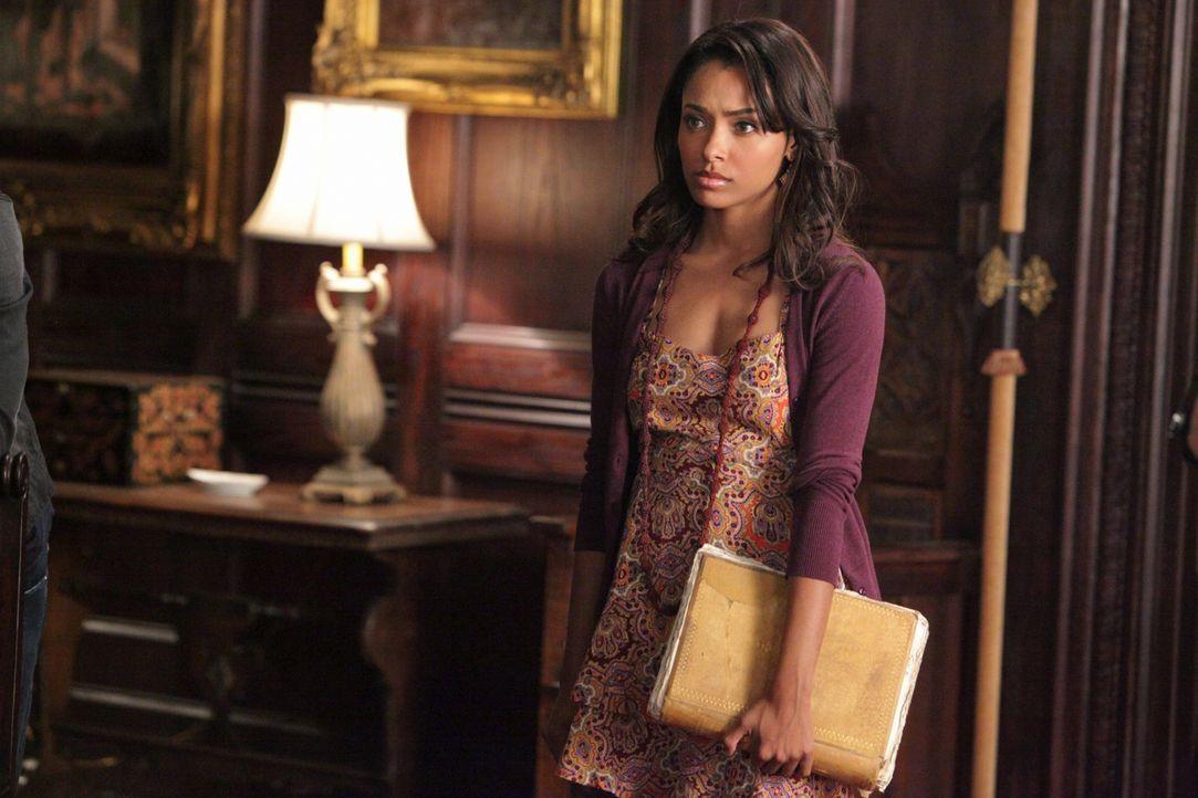 Stefan muss einiges an Überzeugungsarbeit leisten, um Bonnie (Katerina Graham) zu überreden sie wieder einmal mit ihren Fähigkeiten als Hexe zu unte... - Bildquelle: Warner Brothers