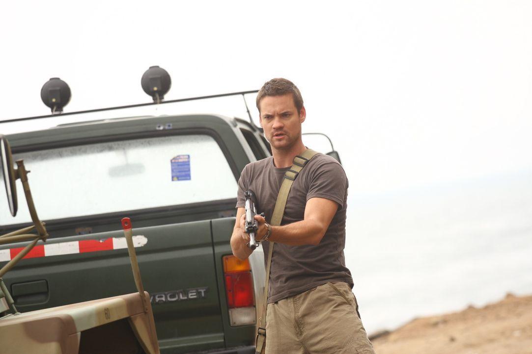 Seine Expedition wird zur tödlichen Jagd: Archäologe Jack Wilder (Shane West) ...