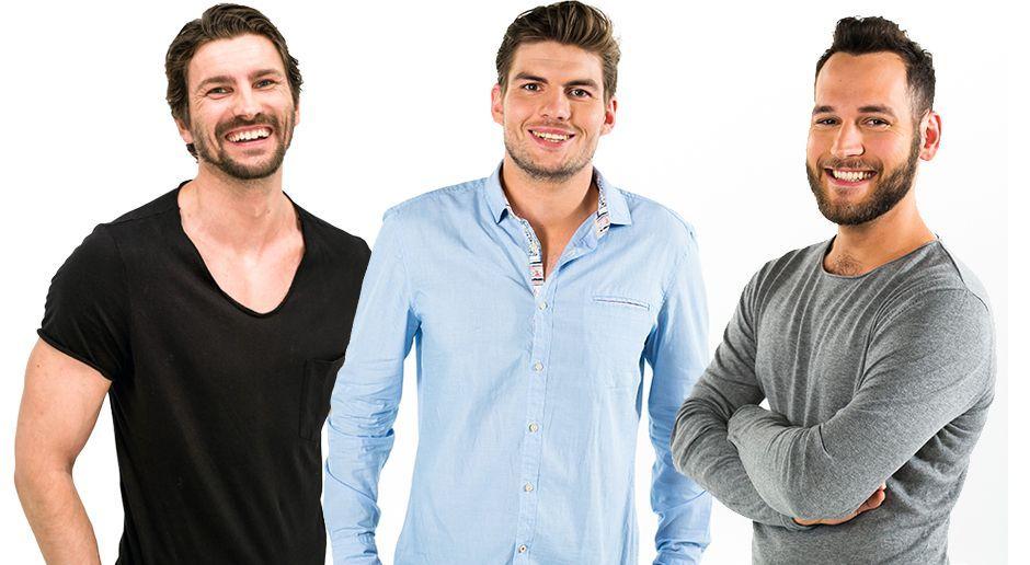 Das sind die drei Jungs - Bildquelle: ProSieben/Bene Müller
