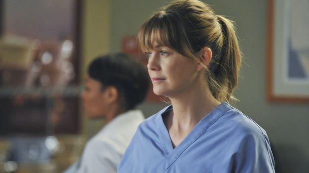 Wird vor eine schwierige Entscheidung gestellt: Meredith (Ellen Pompeo) ... ©...