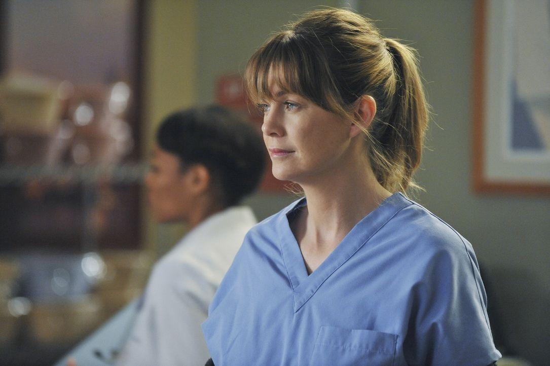 Wird vor eine schwierige Entscheidung gestellt: Meredith (Ellen Pompeo) ... - Bildquelle: ABC Studios