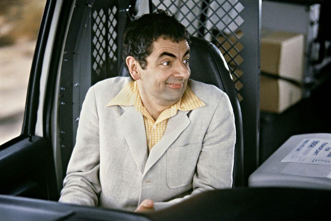 Allen Missgeschicken zum Trotz kämpft sich Enrico Pollini (Rowan Atkinson) Richtung Silver City vor ... - Bildquelle: Senator Film