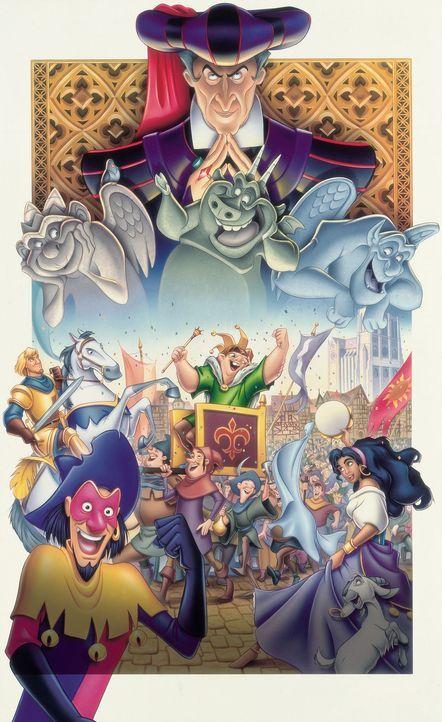 DER GLÖCKNER VON NOTRE DAME - Plakatmotiv - Bildquelle: The Walt Disney Company