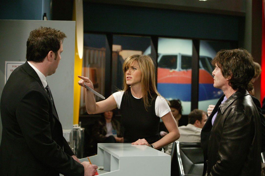 Rachel (Jennifer Aniston, M.) setzt sich durch ... - Bildquelle: 2003 Warner Brothers International Television