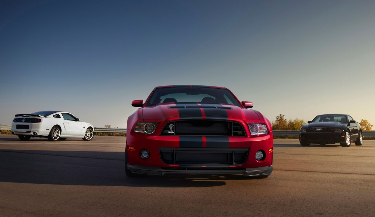 2014er Mustang Shelby GT500 (12) - Bildquelle: © 2013 Ford Motor Company