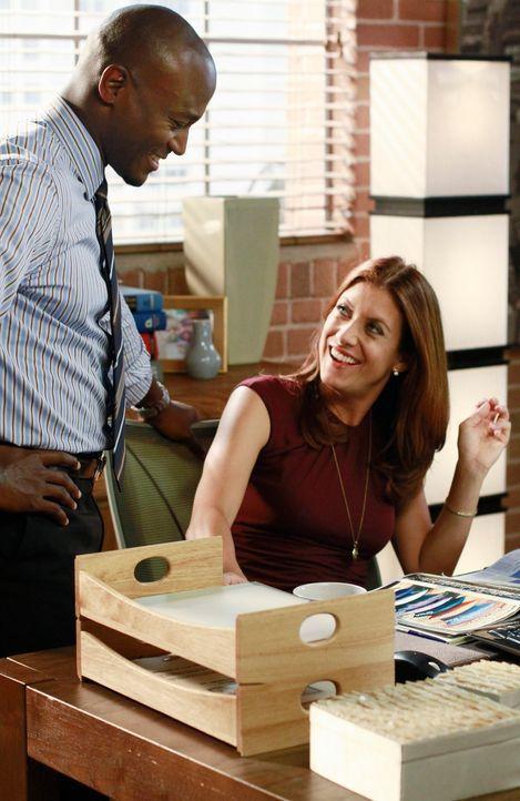 Ihr Leben läuft nicht immer nach Plan: Addison (Kate Walsh, r.) und Sam (Taye Diggs, l.) ... - Bildquelle: ABC Studios
