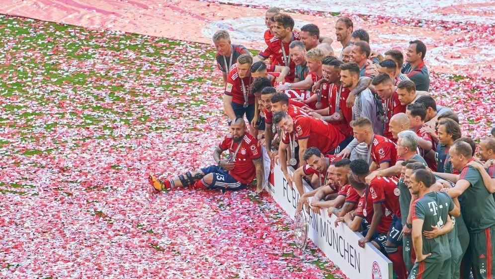 Bayern München möchte das Double perfekt machen - Bildquelle: PIXATHLONPIXATHLONSID