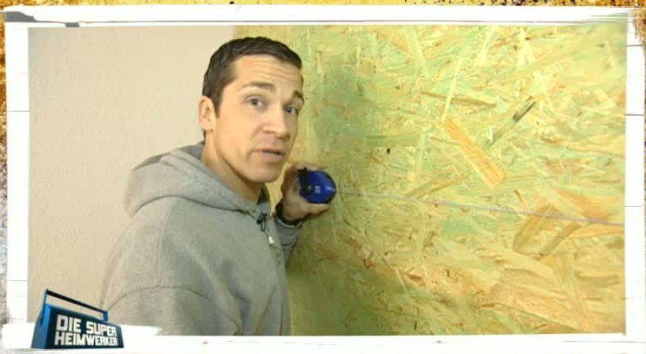 steinwand wohnzimmer video, steinwand im wohnzimmer - video - die super-heimwerker, Design ideen