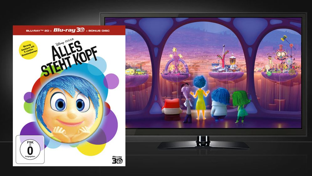 Alles steht Kopf (Blu-ray 3D) - Bildquelle: Walt Disney Studios