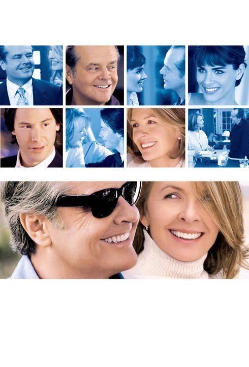 Was das Herz begehrt: Harry Langer (Jack Nicholson), Julian Mercer (Keanu Reeves) und Erica Barry (Diane Keaton) ... - Bildquelle: Warner Bros. Pictures