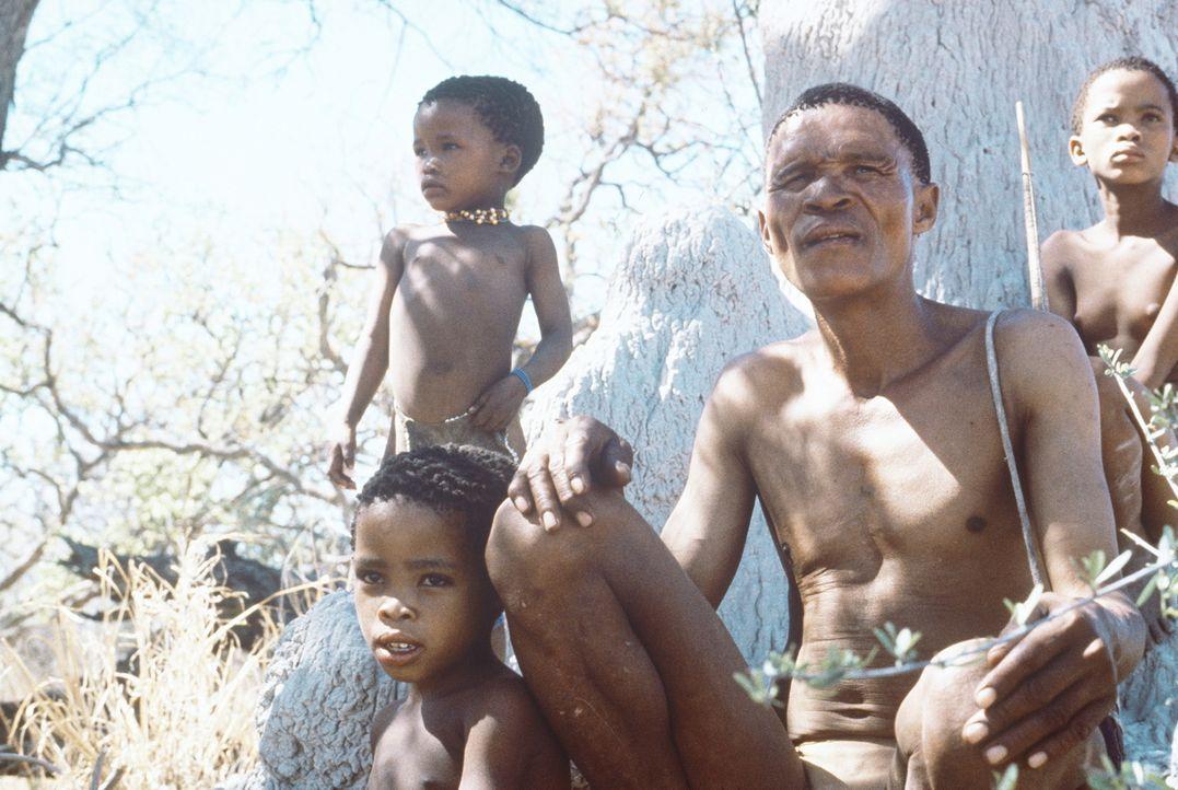 Auf der Suche nach seinen Kindern erlebt Xixo (N!Xau, 2.v.r.) viele aufregende Abenteuer ... - Bildquelle: Columbia Pictures