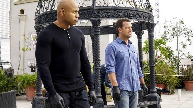 Als Navy-Maschinist Brandon Noah erschossen wird, müssen Callen (Chris O'Donn...