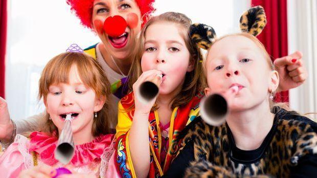 Faschingsspiele: Ideen für die Kinder-Faschingsparty