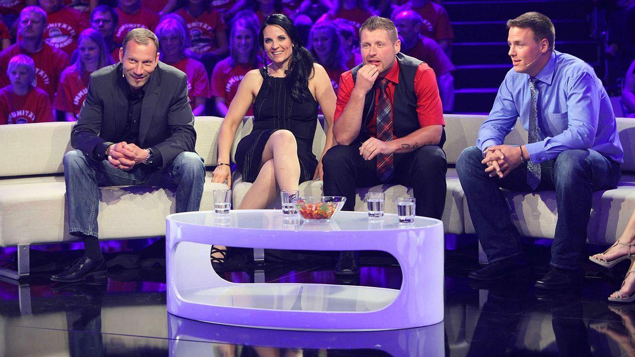 the-biggest-loser-finale-buedecker-kayadelen-team-rot-martin-bjoern-kabeleins 1600 x 900 - Bildquelle: kabel eins