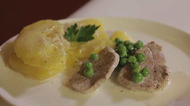 Kartoffelgratin mit Schweinefilet