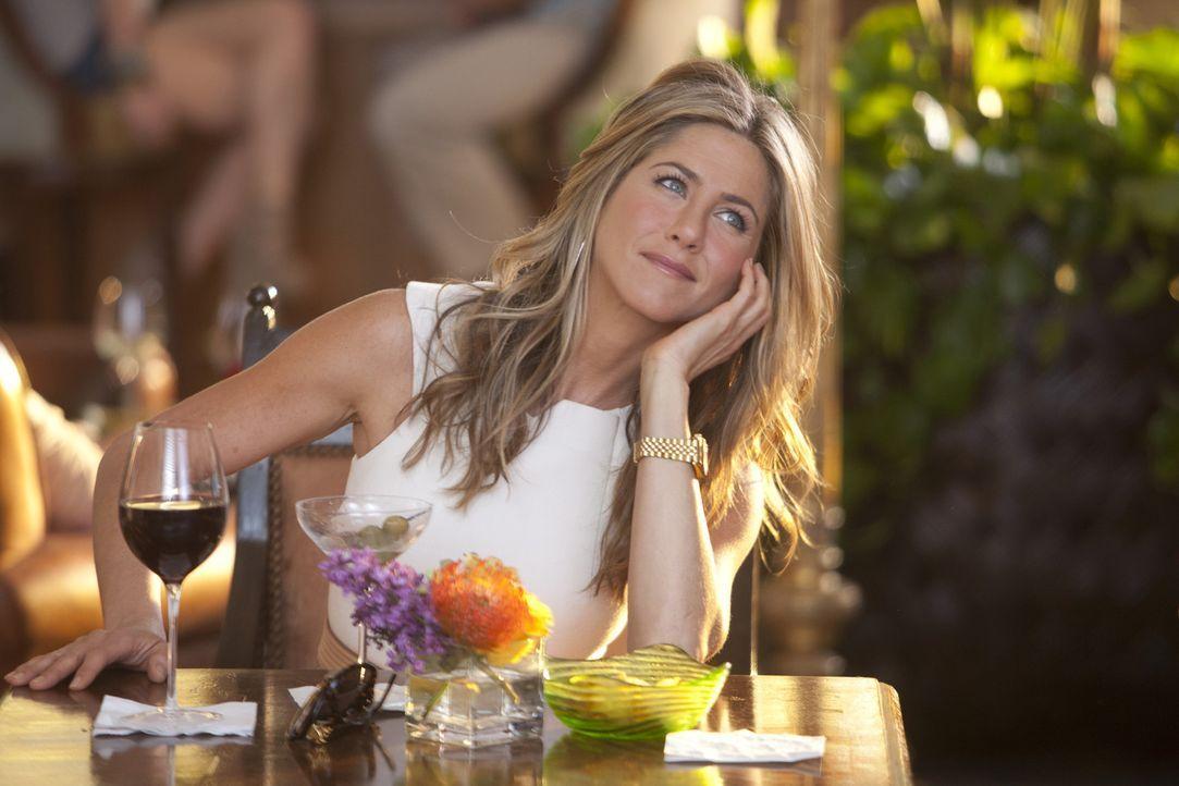 Lässt sich auf ein Spiel ein, das nur in einer Katastrophe münden kann: Katherine (Jennifer Aniston) ... - Bildquelle: 2011 Columbia Pictures Industries, Inc. All Rights Reserved.