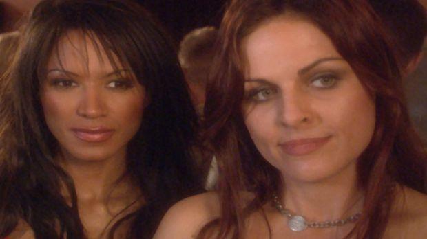 More Mercy - Sandra (Tracy Bingham, l.) ist Sicherheitsbeamtin in einem Luxus...
