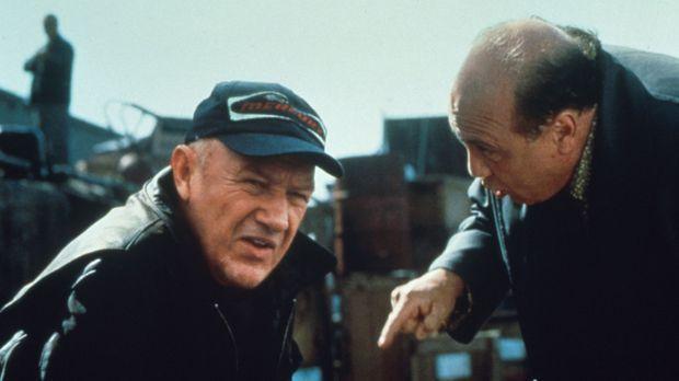 Gnadenlos nutzt Hehler Bergman (Danny DeVito, r.) Moores (Gene Hackman, l.) f...