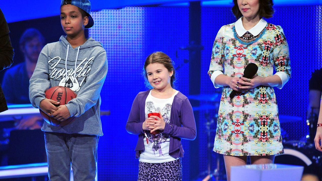 The-Voice-Kids-Stf02-Epi05-Larissa-Danyiom-1-SAT1-Andre-Kowalski - Bildquelle: SAT.1/Andre Kowalski