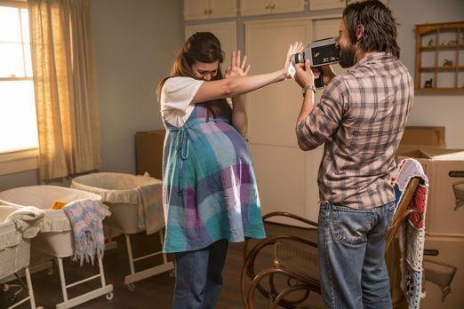 Die Geburt der Drillinge rückt immer näher, weshalb Rebecca (Mandy Moore, l.)...