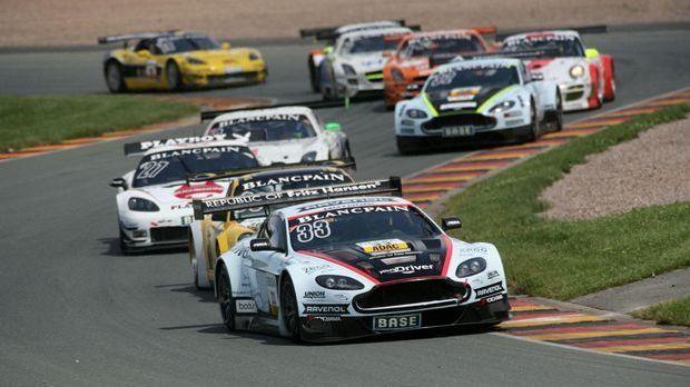 Die ADAC GT Masters: Bilder der Saison 2012