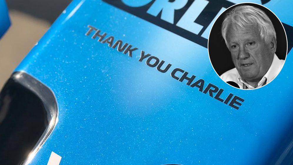 Der frühere FIA-Rennleiter Charlie Whiting starb im Alter von 66 Jahren an e... - Bildquelle: imago/twitter@williamsracing