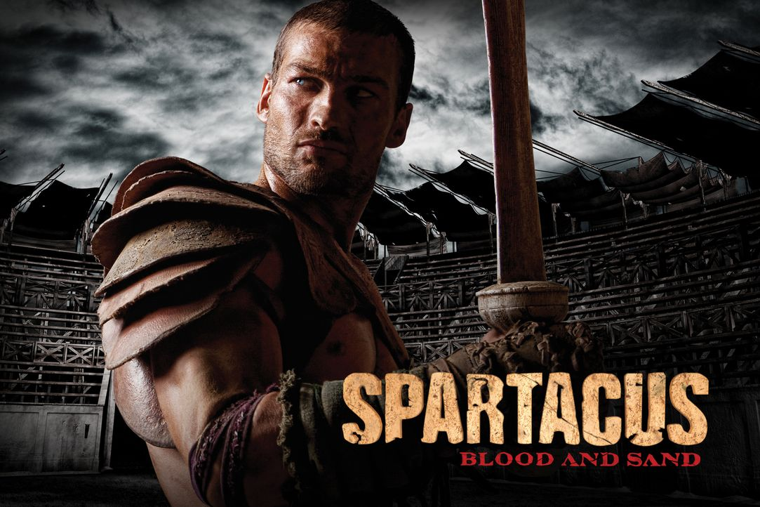 Spartacus - Plakatmotiv - mit Andy Whitfield - Bildquelle: 2009 Starz Entertainment, LLC