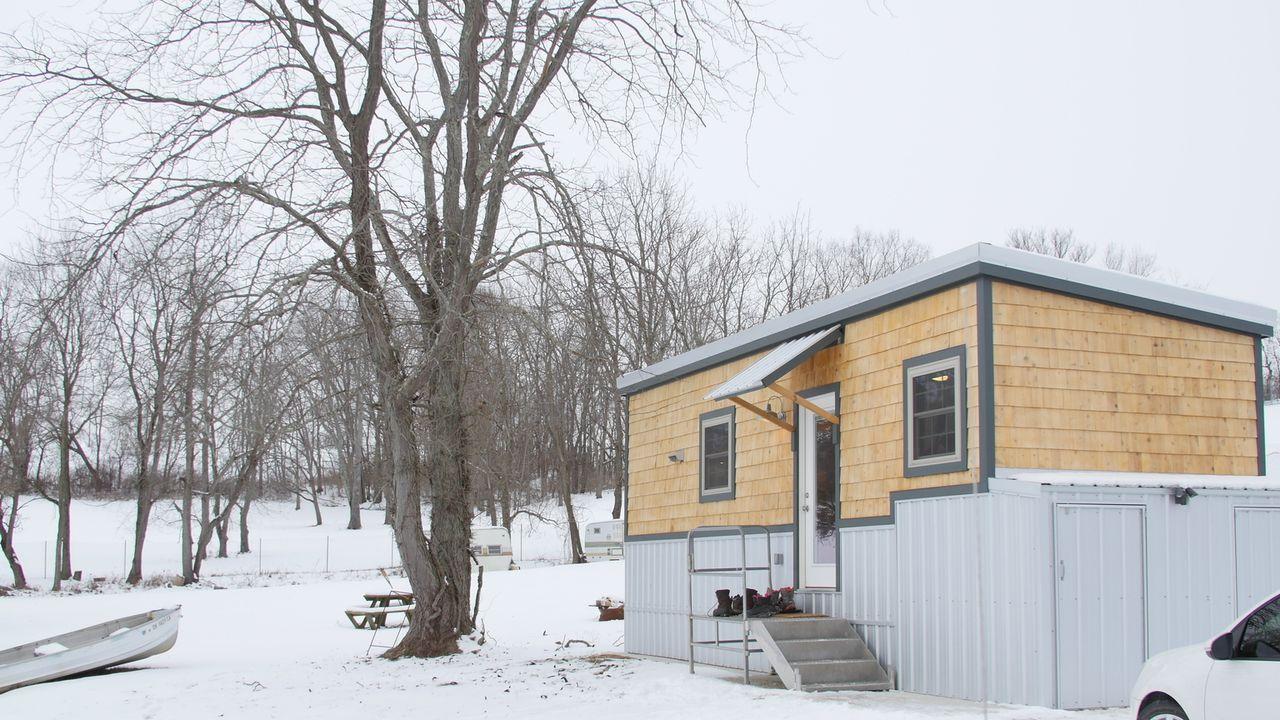 Finden Hannah und Tom für alles den geeigneten Ort und können so am Ende in ihr perfektes, kleinen Haus einziehen? - Bildquelle: 2017, HGTV/Scripps Networks, LLC. All Rights Reserved.