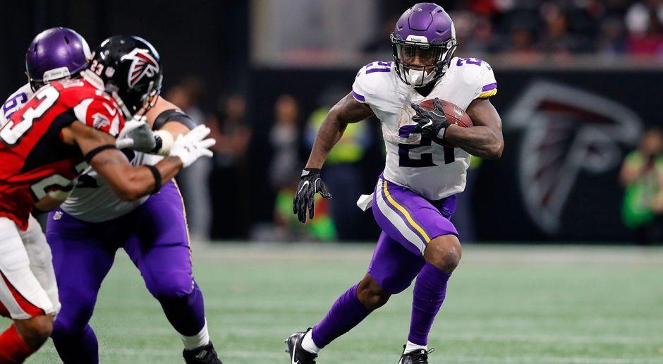 Jerick McKinnon, RB Minnesota Vikings - Bildquelle: 2017 Getty Images