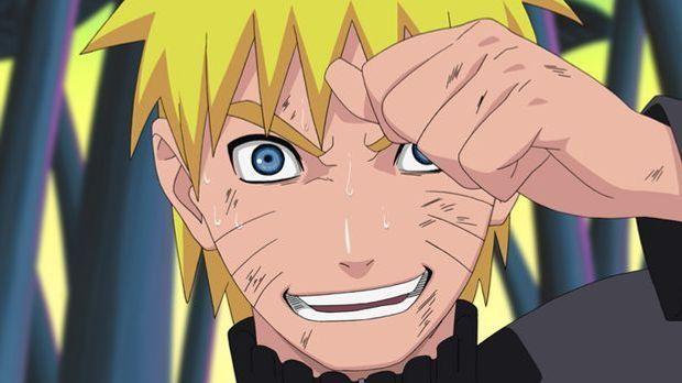 Naruto Uzumaki entschlossen