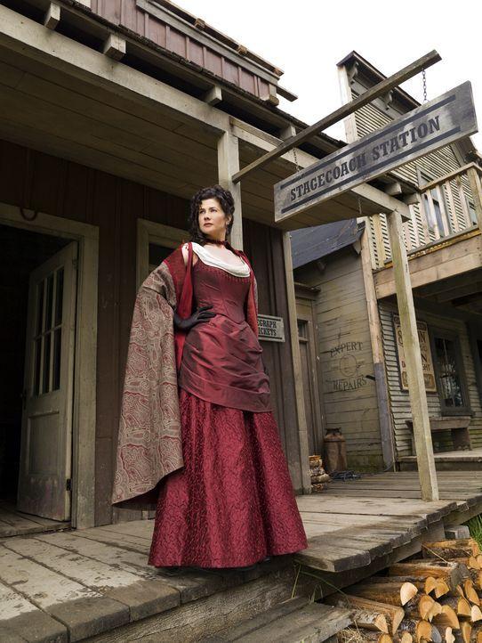 Das Leben in dem ruhigen Örtchen bei dem liebenswerten Beau Canfield könnte für Diana McQueen (Daphne Zuniga) so schön sein, aber das ist ihr vergön... - Bildquelle: 2008 MAIL ORDER BRIDE PRODUCTIONS INC.