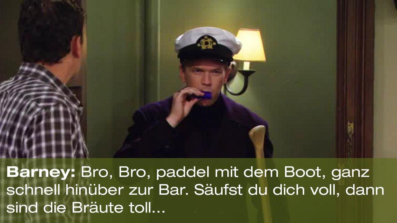 how-i-met-your-mother-zitat-quote-staffel-8-episode-4-godfather-moechte-pate-7-barney-foxpng 1600 x 900 - Bildquelle: 20th Century Fox