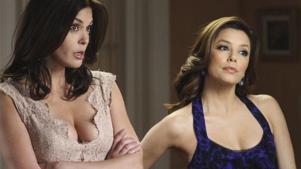 Gabrielle (Eva Longoria, r.) erfährt von Carlos' Geschäftsführer, dass er Mik...