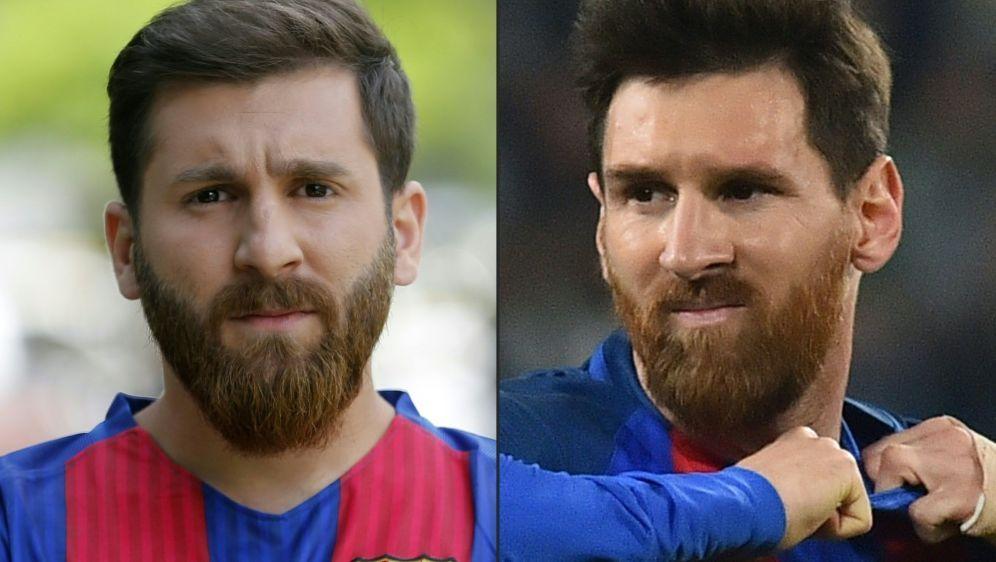 Messi-Doppelgänger Reza Parastesh wurde nun verhaftet - Bildquelle: AFPSIDATTA KENARE, GIUSEPPE CACACE