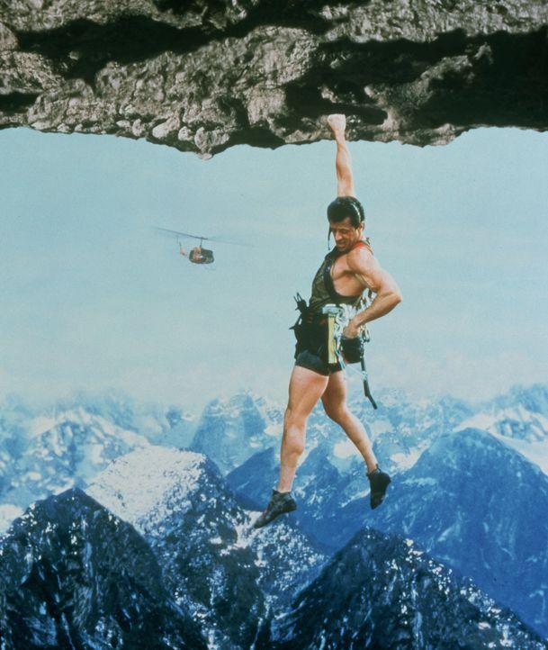Cliffhanger - Nur die Starken überleben: Gabe Walker (Sylvester Stallone) ... - Bildquelle: 1993 Cliffhanger B.V. All Rights Reserved.